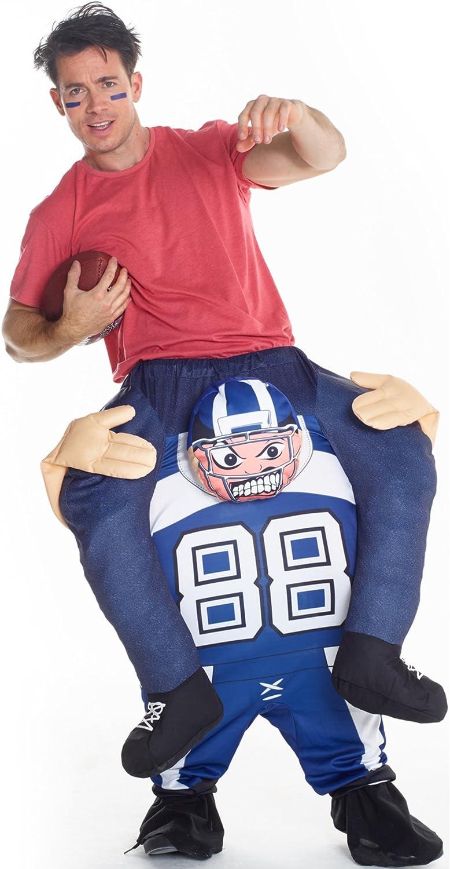 Dondisfraz Disfraz a Hombros de Jugador de Rugby para Adulto ...