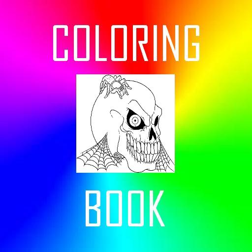 [Halloween Coloring Book] (Kids Halloween Coloring Pictures)