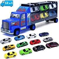 Cars Toddler Toys for Boys 3 4 5 6 7 Year Old Gifts,Kids Car Toys Carrier Truck...