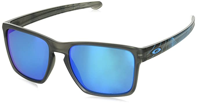 24def07569ccc Image Unavailable. Image not available for. Colour  OAKLEY Men S Mod. 9341  Sun Sliver Xl 934120 57 Rectangular Sunglasses ...