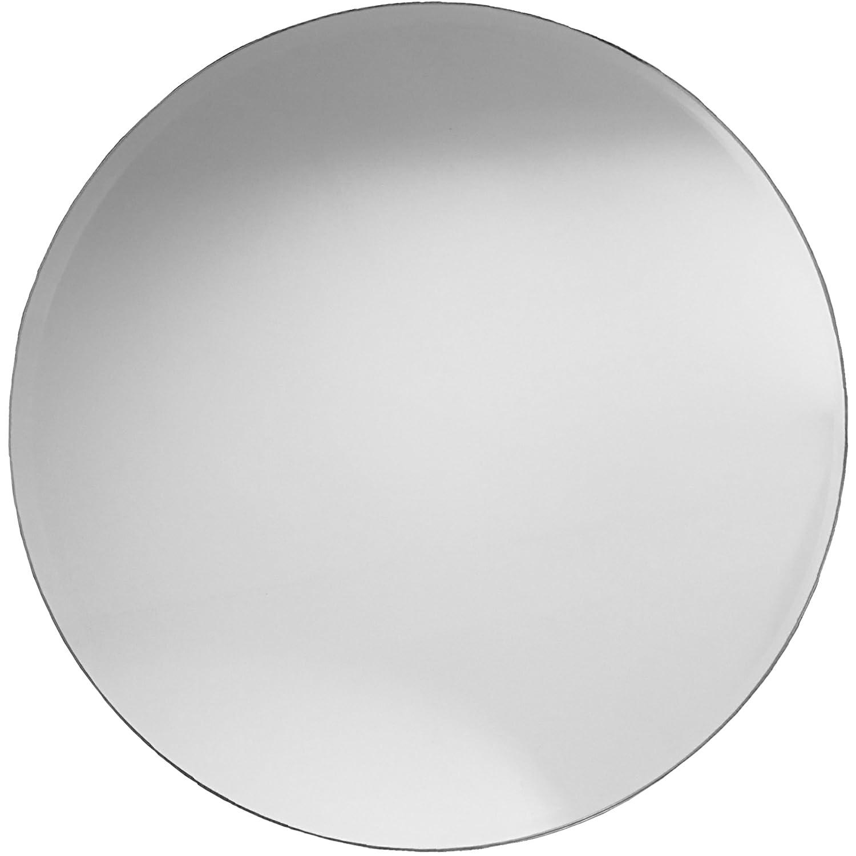 Runder Spiegel   Badspiegel mit Facettenschliff 58,5 cm Duchmesser