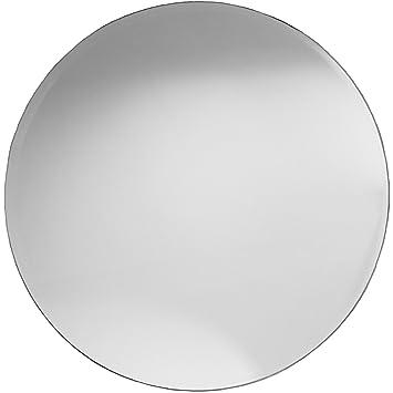 Badspiegel Mit Facettenschliff Rund Flur Spiegel Ca 60 Cm Bad