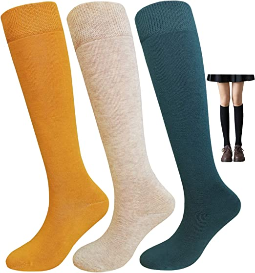 Womens Sock Thick Soft Boots Socks Girls Winter Thermal High Stockings Hosiery