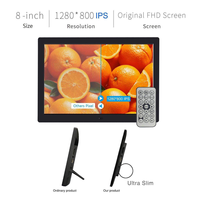 Digitaler Bilderrahmen, SSA 8 Zoll 1280x800 Hohe: Amazon.de: Kamera