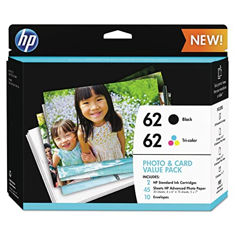 Amazon.com: HP 62 - Cartuchos de tinta para HP ENVY 5540 ...