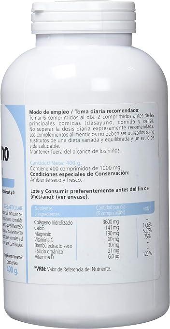 Sanon Colageno Hidrolizado de 1000 mg - 400 Comprimidos: Amazon.es: Salud y cuidado personal