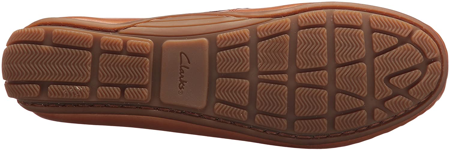 Amazon.com | CLARKS Womens Dameo Swing Driving Style Loafer | Loafers & Slip-Ons