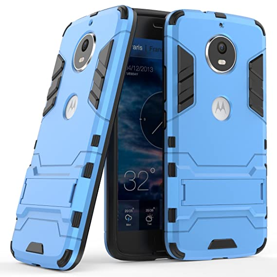 new concept 15115 91205 Moto G6 Case, Moto G6 Hybrid Case, Dual Layer Shockproof Hybrid Rugged Case  Hard Shell Cover with Kickstand for Motorola Moto G6 [NOT fit Moto G6 ...
