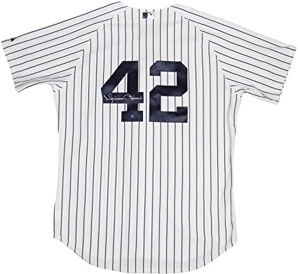 premium selection 7a3f9 164f2 Mariano Rivera Authentic Yankees Home Jersey (Signed on Back ...