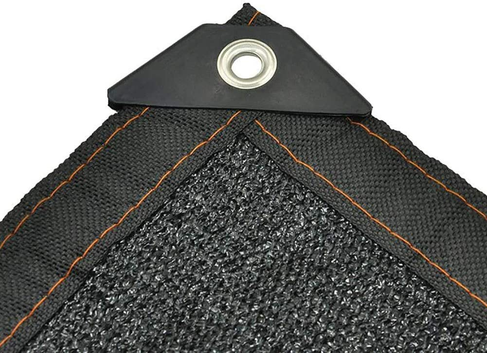 Red de Sombra Negra con Esquina de Refuerzo, pérgola Patio Piscina Porche Tela de Sombra Resistente a los Rayos UV, Ligero, Fácil configuración (Size : 3X8M): Amazon.es: Hogar