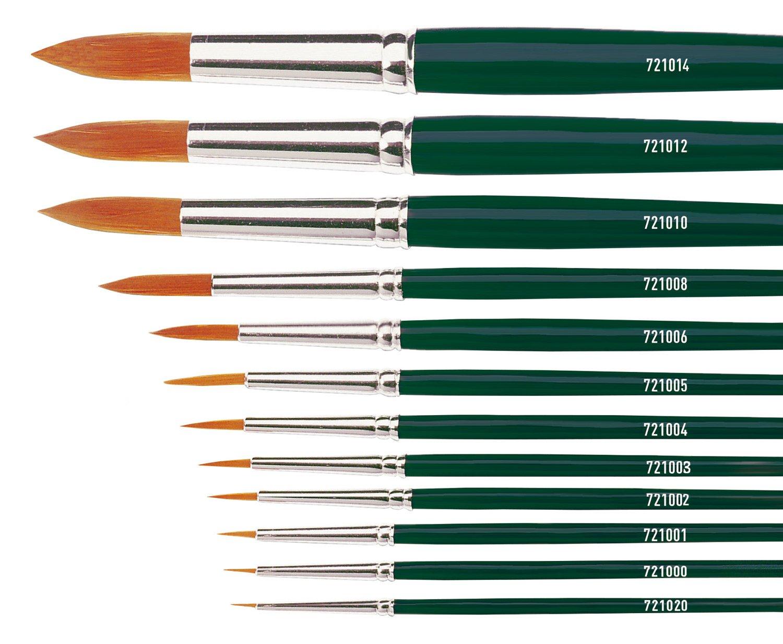 KREUL 721000/ /Basic Pincel nailon fino punta redonda tama/ño 0