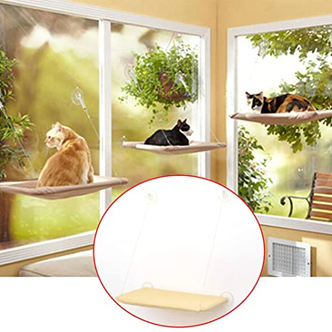 Tookie Hamaca para gatos, cama para colgar en la ventana, para gatos, muebles