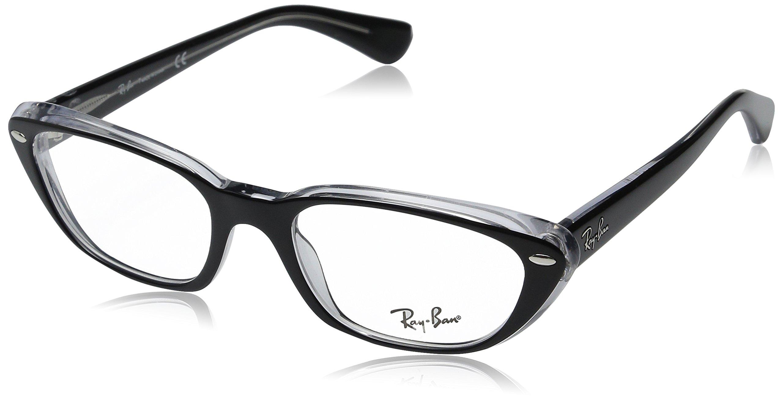 Ray Ban Eyeglasses RB 5242 BLACK 2034 RX5242 X53MM