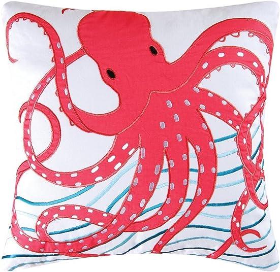 C F Enterprises Tropic Escape Octopus Pillow