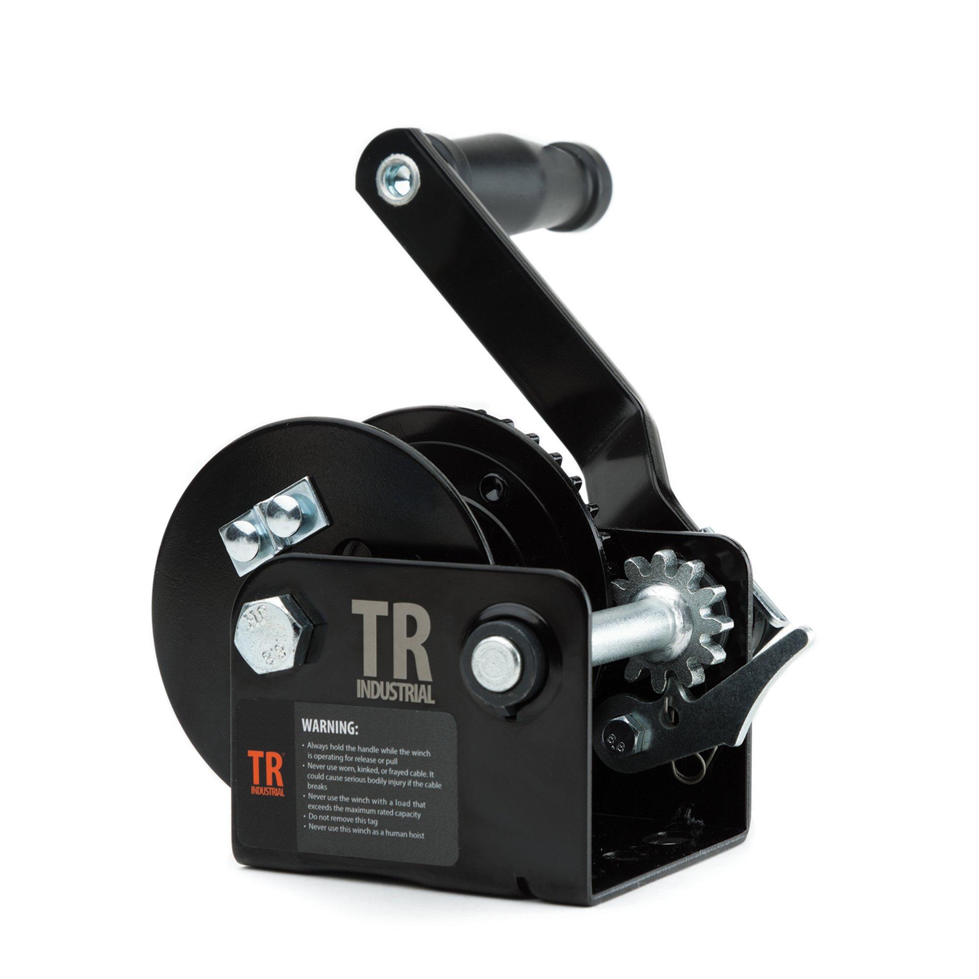 TR Industrial 600 lb. Trailer Winch