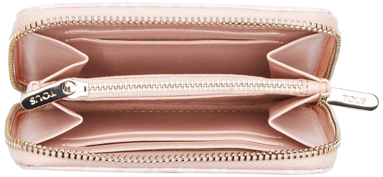 Tous Kaos Mini - Monedero para Mujer, Rosa, 13 x 11 x 2 cm ...