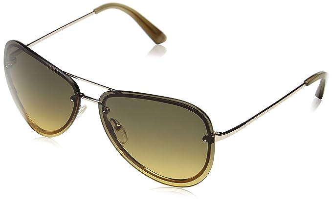 Calvin Klein Herren CK7487 Aviator Sonnenbrille, 036 Black/Grey