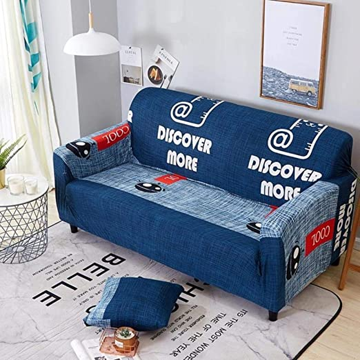 Zhengq Funda de sofá elástica Todo Incluido para sofá de ...