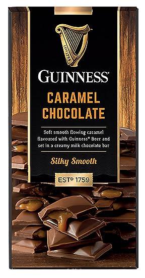 Guinness Luxury Leche Chocolate Caramelo Barra (90g)