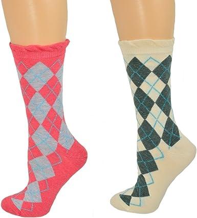 Size 4~10 Charcoal Gray Women/'s 2pk Unicorn Sparkly Heart Crew Socks