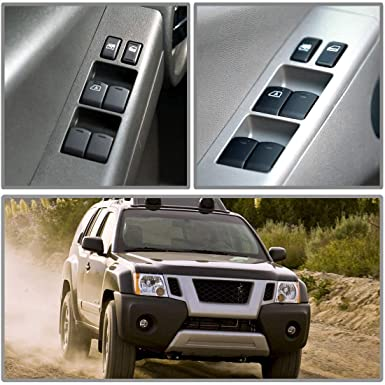 2005-2012 Nissan Frontier Crew Cab Eynpire 9203 Power Master Control Window Switch For 2005-2012 Nissan Xterra