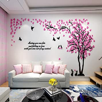 Alicemall 3D Wandaufkleber Stereo Wandaufkleber Abnehmbare Wohnzimmer  Schlafzimmer Kinderzimmer Sofa Hintergrund Wandtattoo Möbel - Muster 5