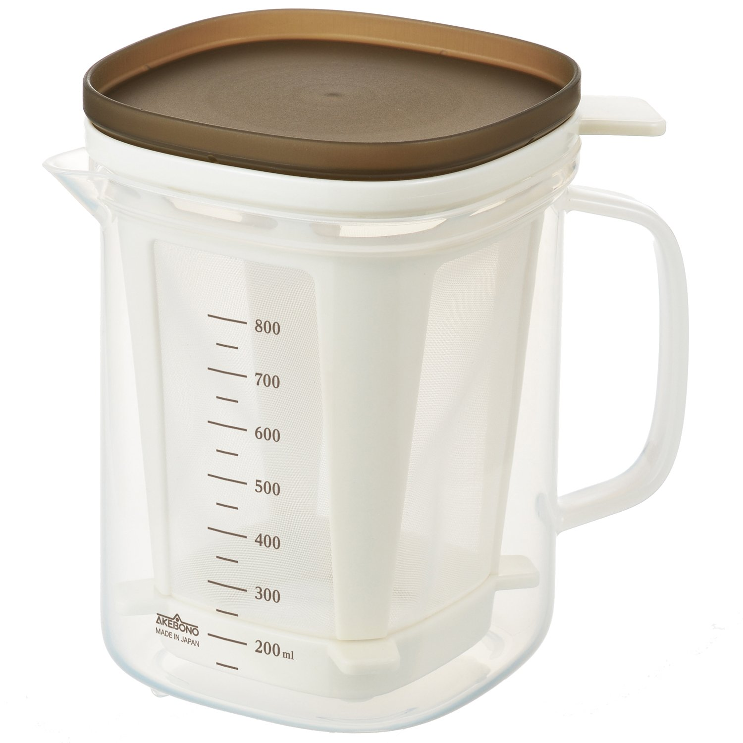 Easy Japanese Dashi Soup Stock Maker For Microwave Oven By Akebono Akebonno Coffee Re 1510 Kitchen Home