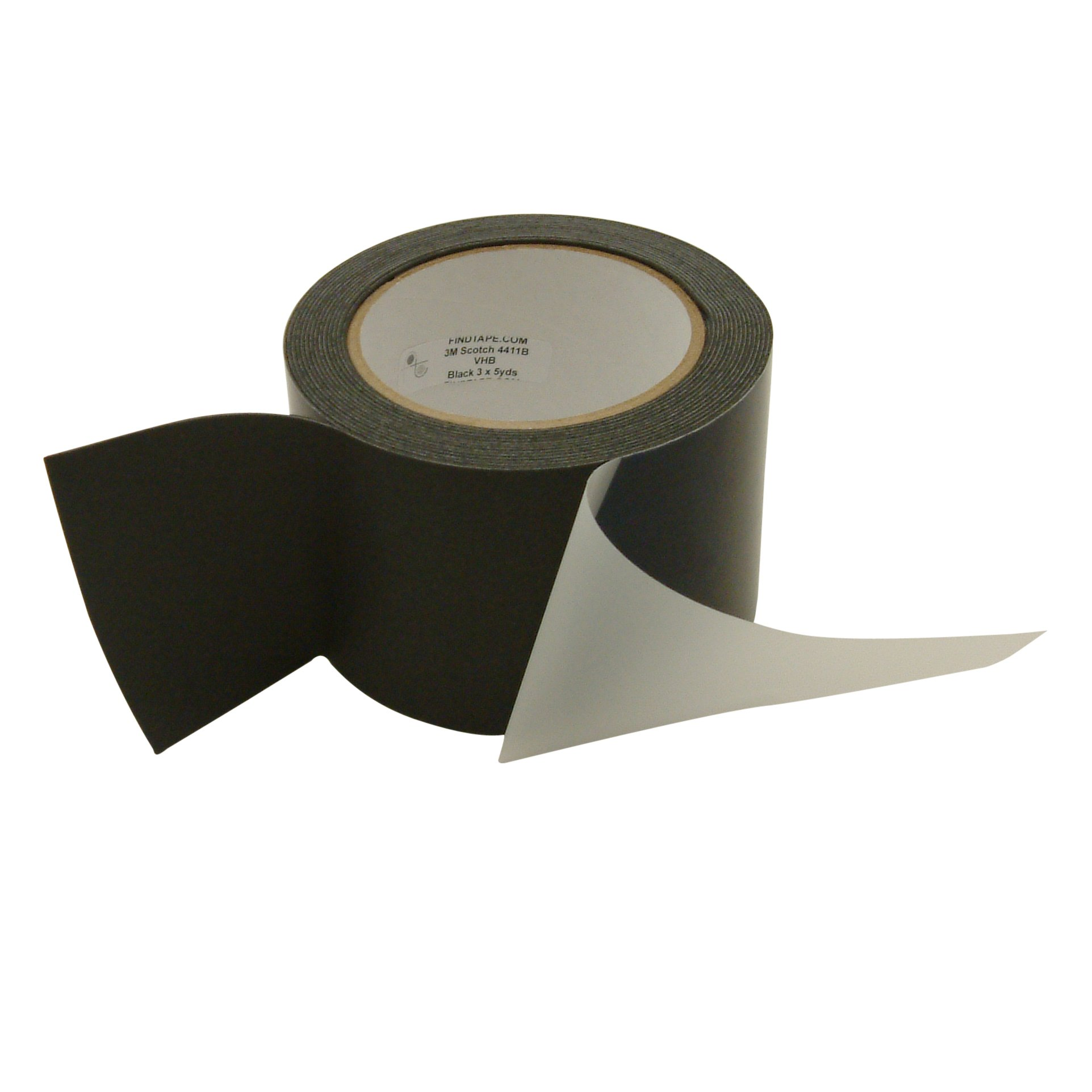 3M 4411B/35 Scotch 4411 Extreme Sealing Tape: 3'' x 15 ft, Black
