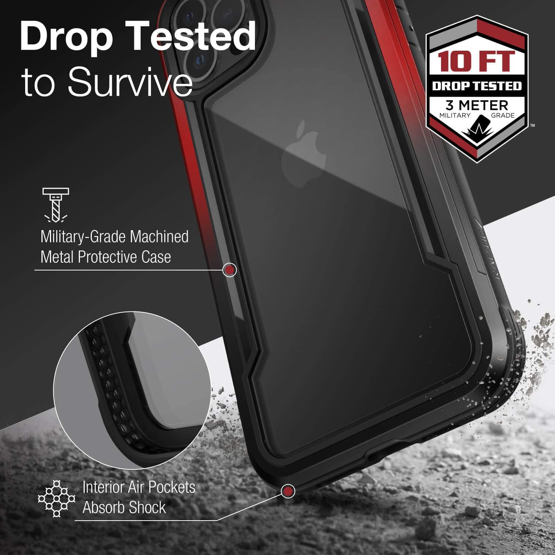 X Doria Raptic Shield Fall Kompatibel Mit Iphone 12 Pro Elektronik