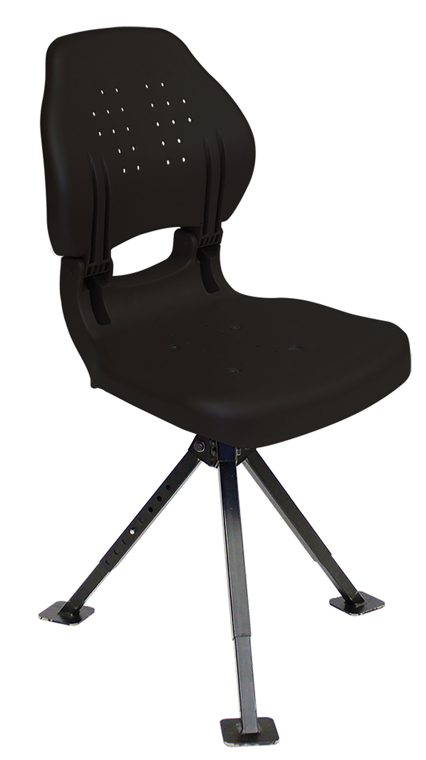 Wise Ergo Hunter Seat with Tripod 360 Stand, Black