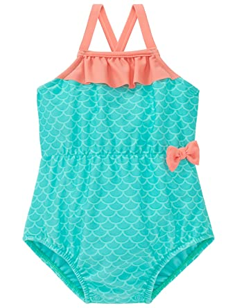 Schiesser Baby-M/ädchen Aqua Badeanzug Einteiler