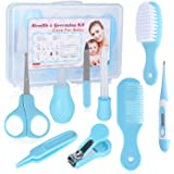 VolksRose 9 in 1 Baby Grooming Kit Portable Infant Child Healthcare Mini Manicure Accessories, Toddler Essentials Newborn Bab