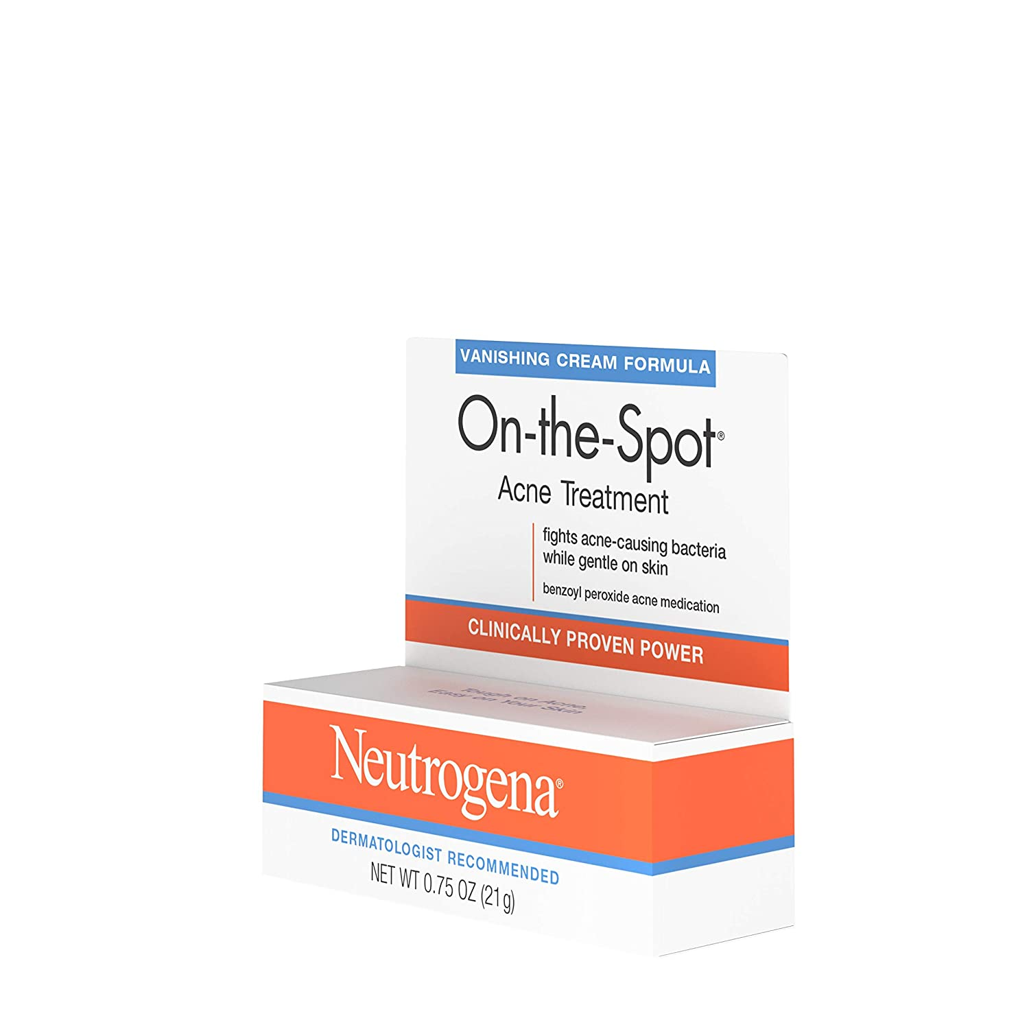 Amazon Com Neutrogena On The Spot Acne Spot Treatment With 2 5