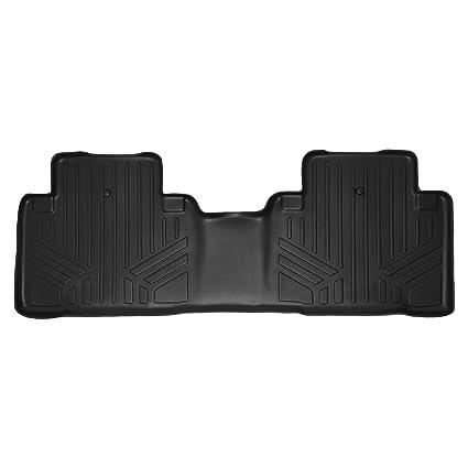 Amazoncom SMARTLINER Floor Mats Nd Row Liner Black For - Acura mdx floor mats