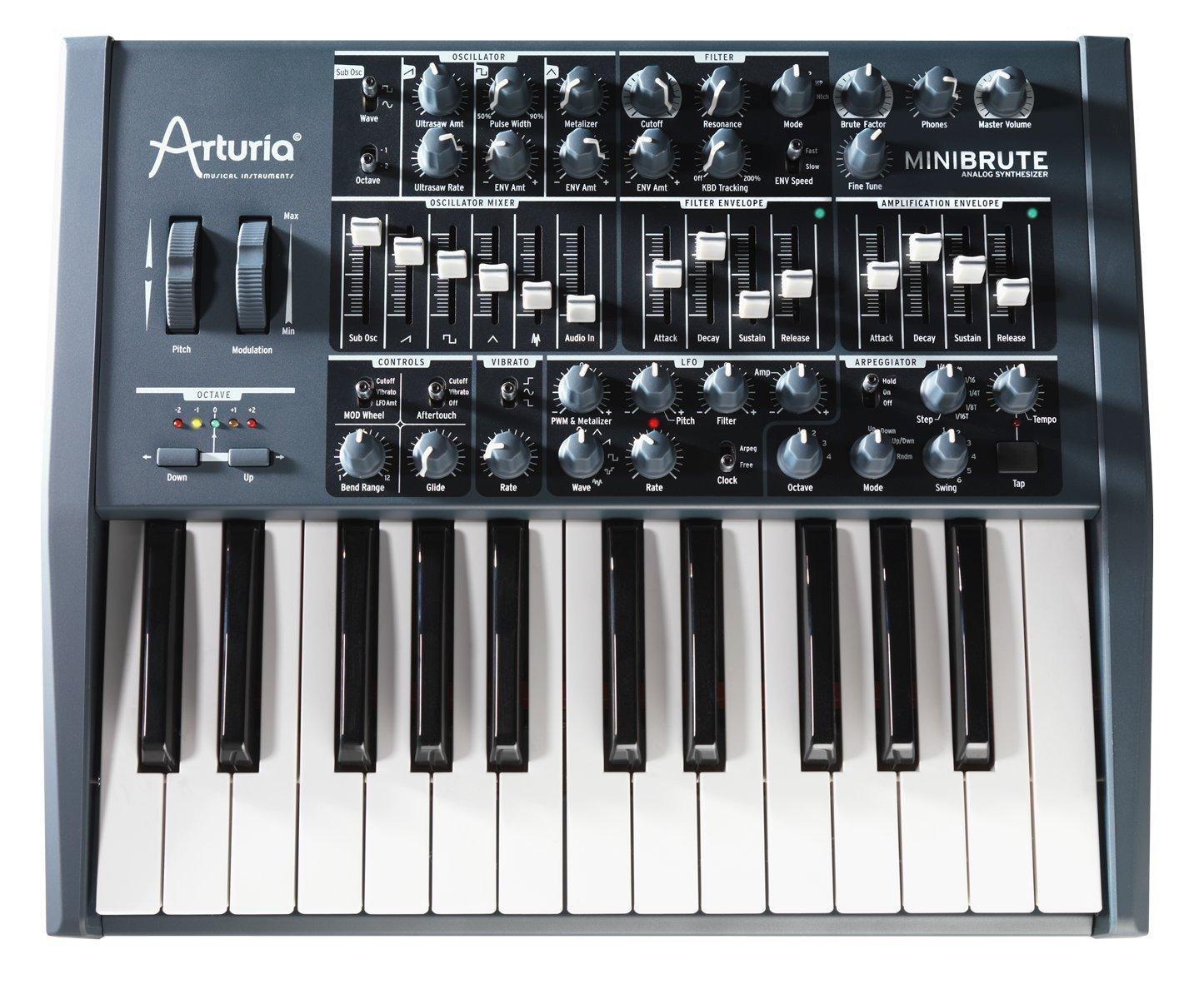 Arturia MiniBrute Analog Synthesizer