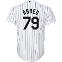 1f8877d0a Outerstuff Jose Abreu Chicago White Sox  79 White Youth Cool Base Home Replica  Jersey
