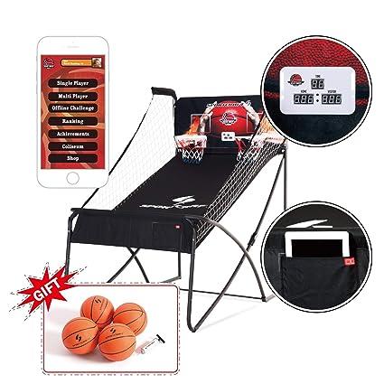 Amazon.com: Shaq doble Hoop Shot Baloncesto Arcade Deluxe ...