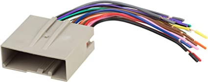 [DIAGRAM_0HG]  Amazon.com: SCOSCHE FD23B Car Speaker Wiring Harness Connector Kit  Compatible with Select 2003-Up Ford Vehicles: Car Electronics | Scosche Wiring Harness Fdk106 |  | Amazon.com