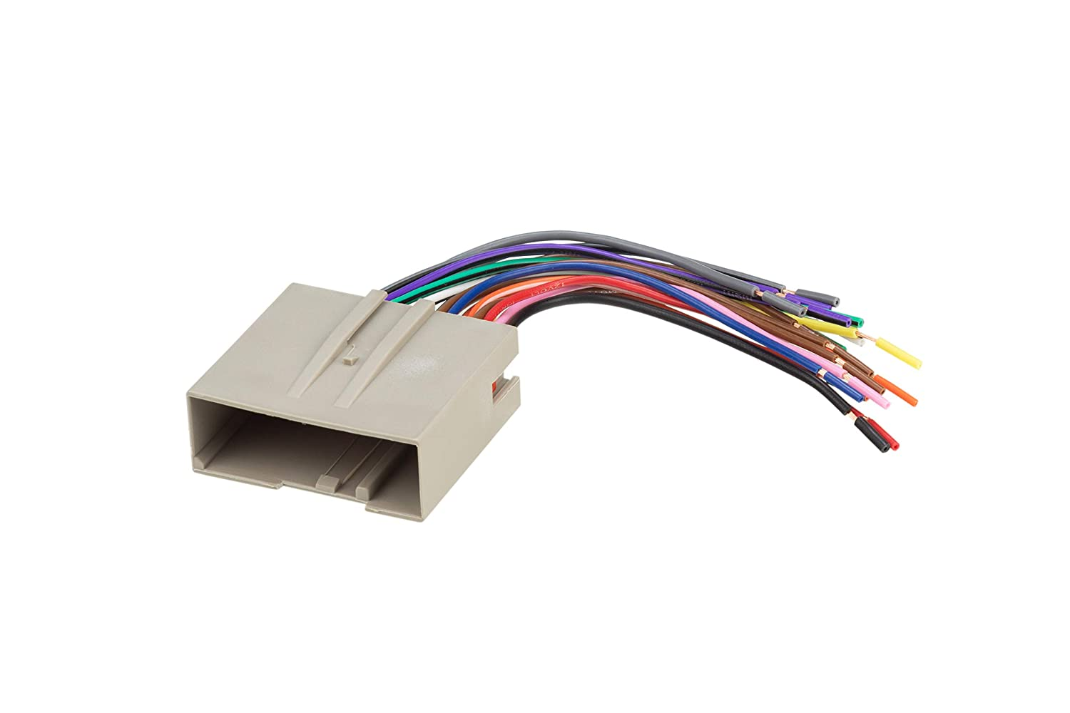 amazon com: scosche fd23b car speaker wiring harness connector kit  compatible with select 2003-up ford vehicles: car electronics