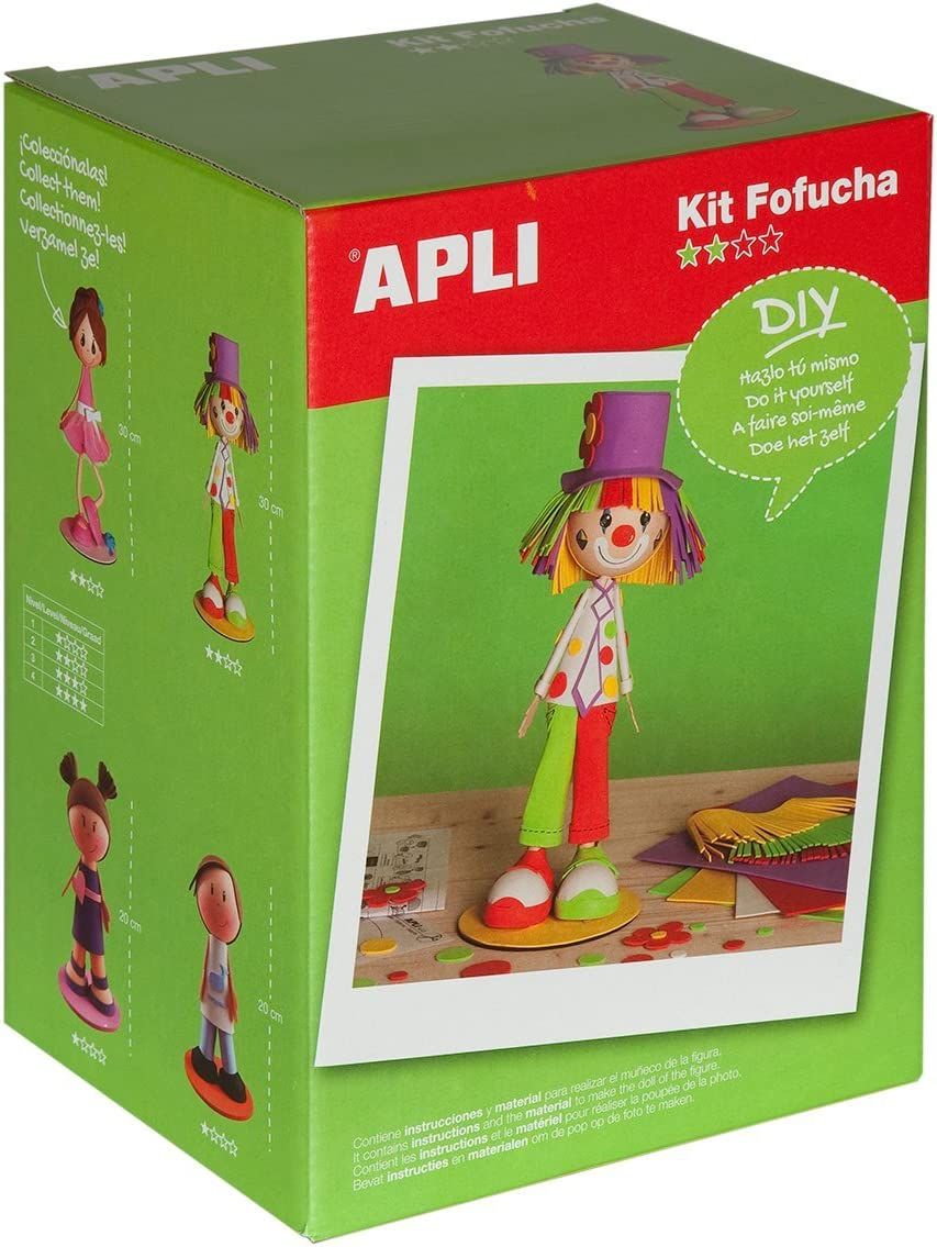 Apli Paper Ref. 13981 Kit Fofucha Payaso: Amazon.es ...