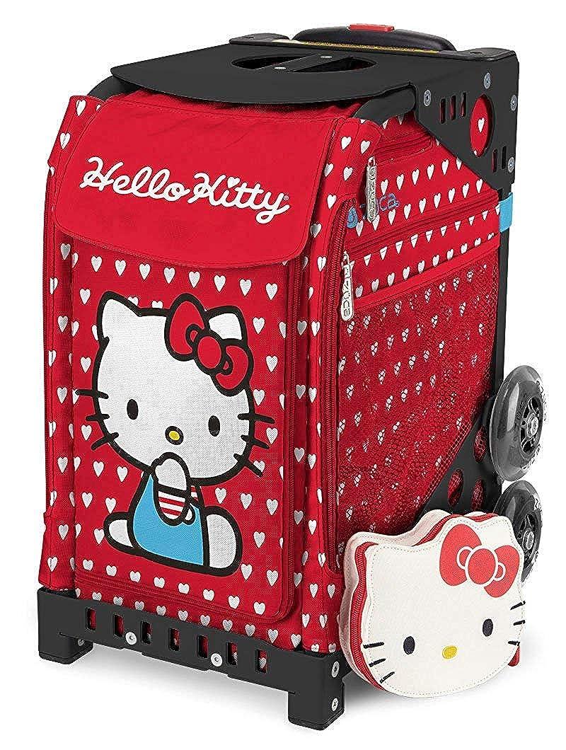 ズーカ スポーツ ハローキティ レイバーオブラブ Black (Non Flash Wheel) <ZUCA SPORT Hello Kitty labor of love>   B079F4B98Z