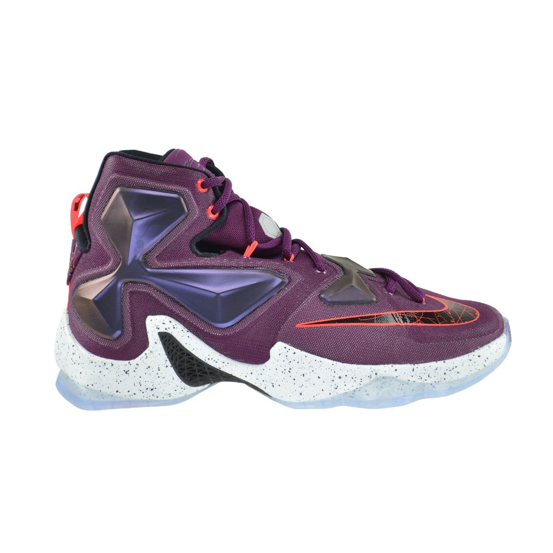 NIKE Men's Lebron XIII Basketball Shoe B016SK2PGC 10.5 D(M) US Mulberry/Black-purple Platinum Vivid Purple