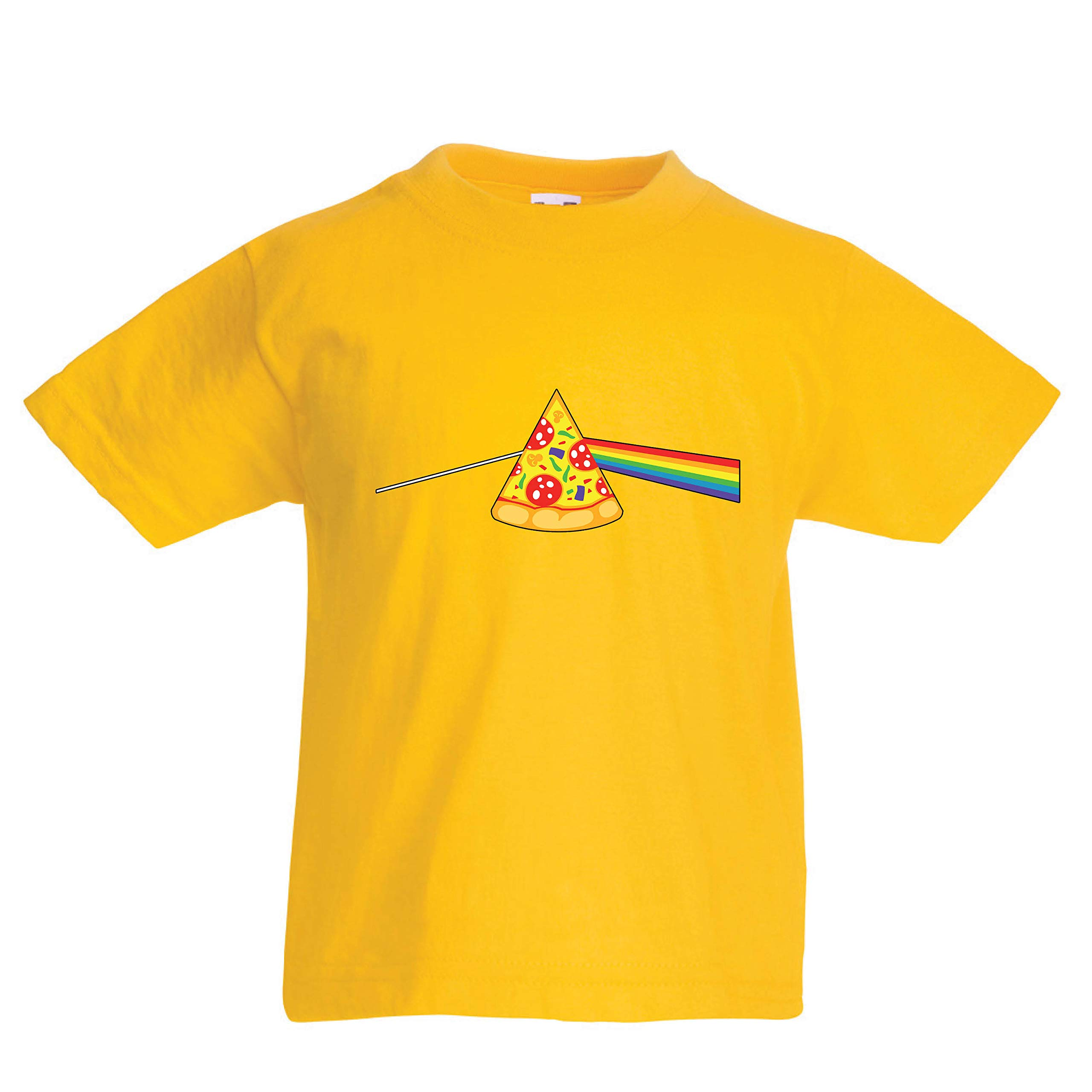 Lepni Me T Shirt Pizza In Colorful Rainbow Mood Food Lover Gift