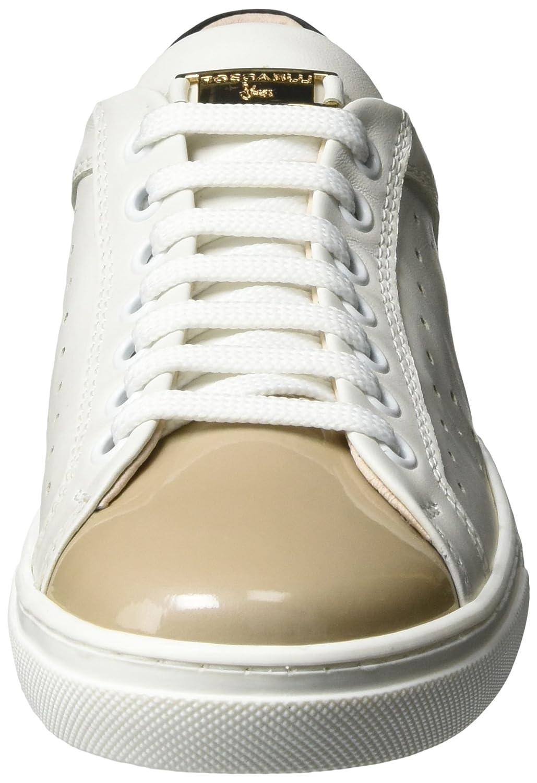Blu EuAmazon Damen Gin Tosca Shoes Sneaker Tonic Weißbianco40 KlTJ1Fc