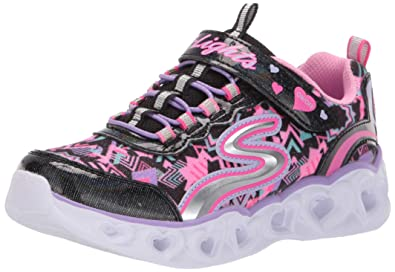 102064dd5add Skechers Kids  Heart Lights Sneaker