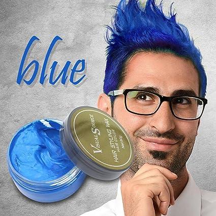 Leegoal (TM) - Color de pelo instantáneo, tinte en crema temporal para el pelo, lavable, desechable, tinte en crema para hombres y mujeres (rojo)