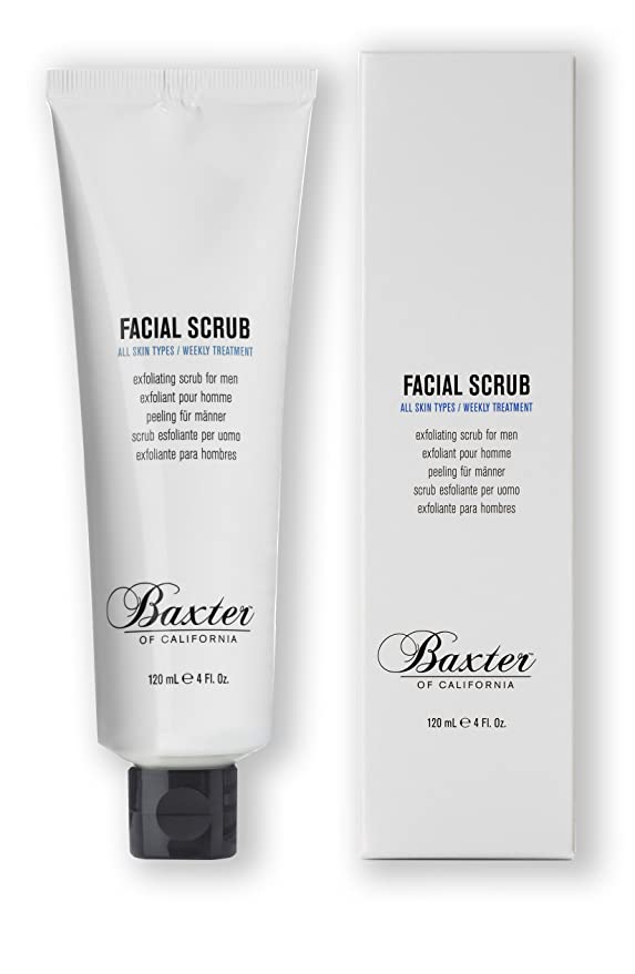 Baxter of California Facial Scrub, 4 fl  oz
