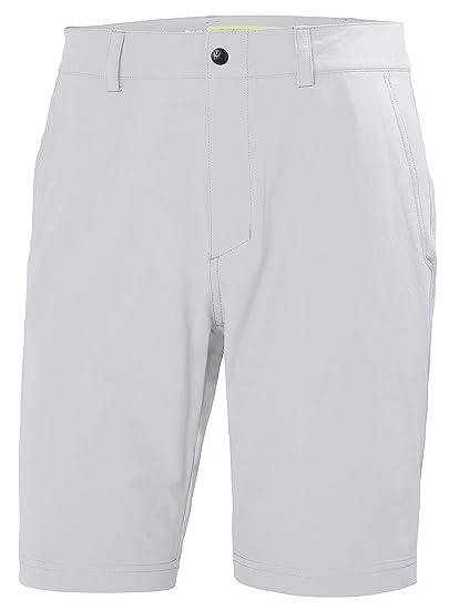 """3dce3f58bd Helly Hansen Men's Hydropower Quickdry, Stretch Club Shorts 10"""", Grey  Fog ..."""
