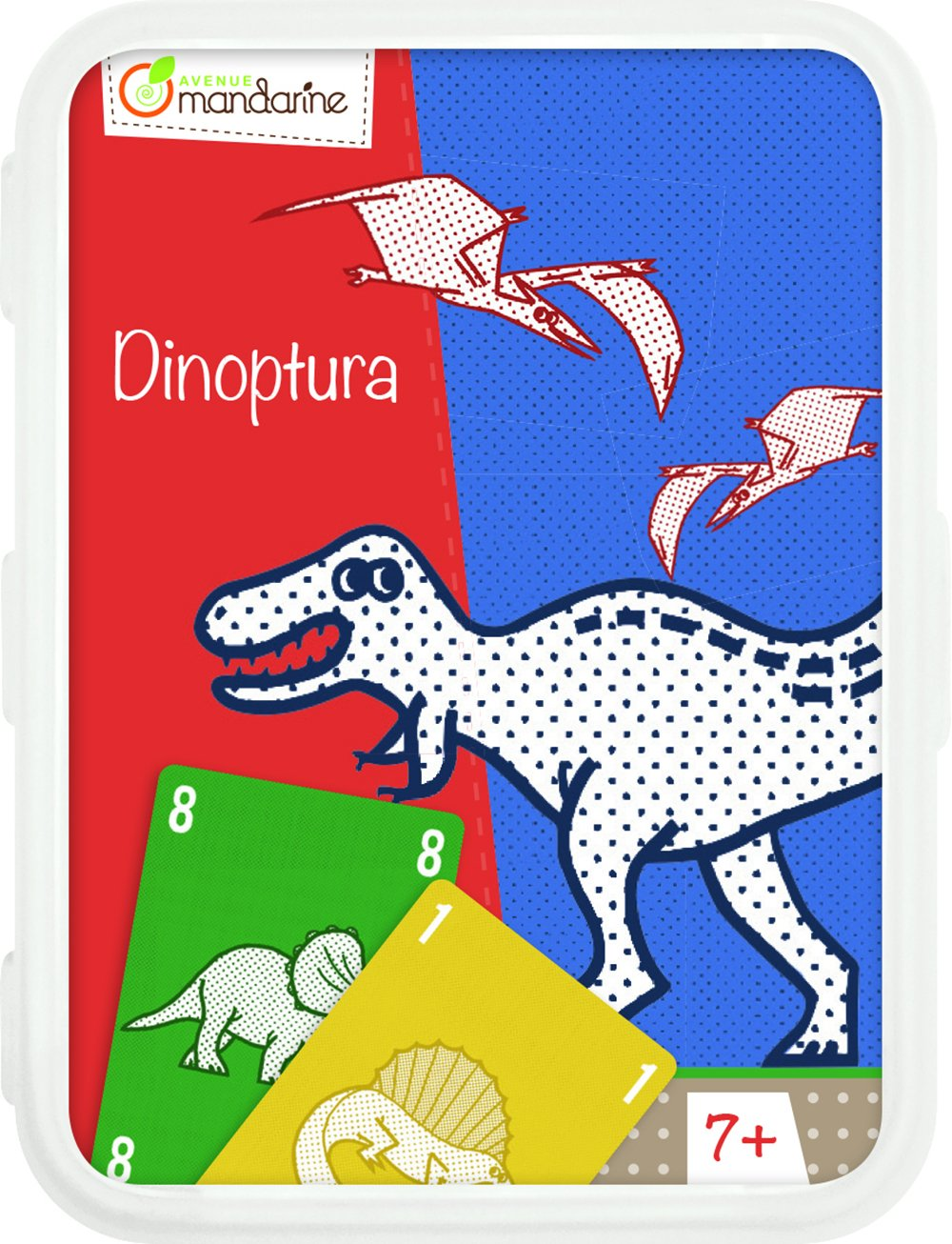 Decopatch-CO107O-Avenue Mandarine Dinoptura-Juegos de Cartas ...