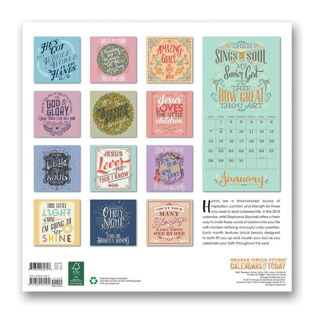 a year of hope inspiration by deborah mori 2018 wall calendar ca0175